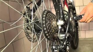 Настройка передач на велосипеде