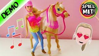 BARBIE tanzendes Pferd deutsch | Barbie und ihre Schwestern in der großen Hundesuche | Spiel mit mir
