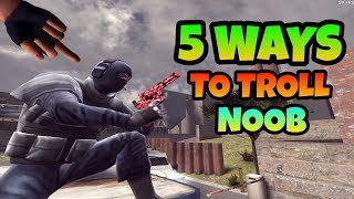 How to Troll Noob in Critical Ops