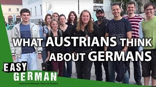 What Austrians think about Germans | Easy German 149