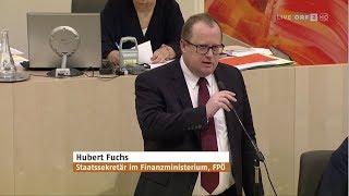 Hubert Fuchs - Entlastung Für Österreich (Steuerreform) - 30.1.2019