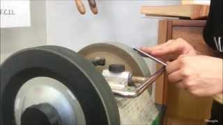 Woodcarving Gouge Sharpening