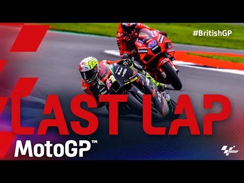 MotoGP 2021 第12戦イギリス 最終ラップの走りをまとめた動画