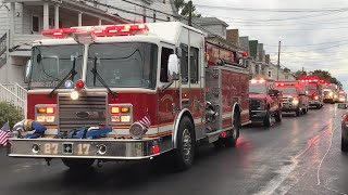 Coaldale Fire Co Lights & Sirens Parade and Tower 4024 Housing