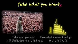 ONE OK ROCK--Take What You Want【歌詞・和訳付き】Lyrics