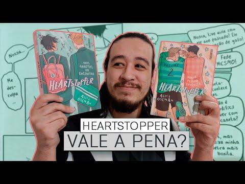 HEARTSTOPPER: UNBOXING + REVIEW (edição BRASILEIRA) | Mil Páginas
