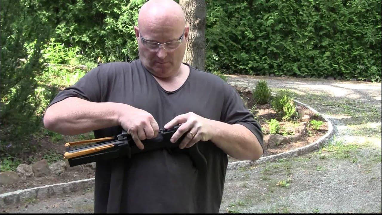Dart-Launching Pistol Guarantees Bullseye Shots Every Time