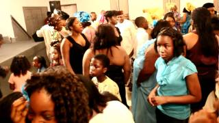 Kelly Hansome Maga Don Pay at Wedding Party dance{www.47Africa.com}