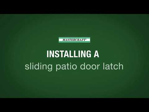 MASTERCRAFT Exterior Doors > Exterior Doors > Sliding Patio Door Latch Adjustment
