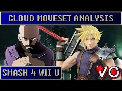 Cloud Trailer Analysis By GimR - Smash Wii U | SSB4 | Smash 4