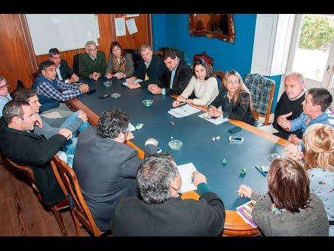 Reunión con los concejales por los móviles