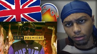 AMERICAN FIRST REACTION | Unknown T – MEAT [Music Video] | GRM Daily