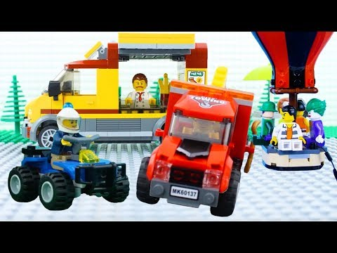 LEGO City Vehicles (COMPILATION) STOP MOTION LEGO Train, Bus, Car AND More! | LEGO | By Billy Bricks