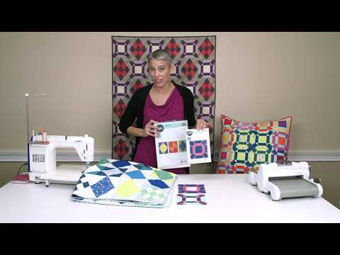 Modern Quilting With Victoria Findlay Wolfe's Diamond Sampler and Facets Die | Sizzix Quilting