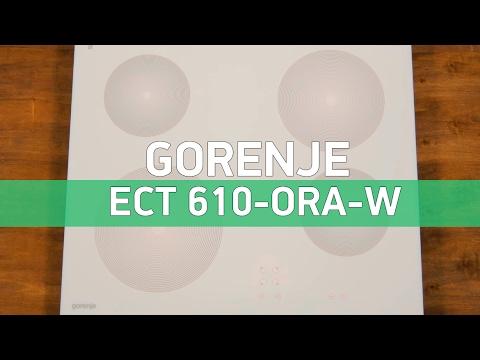 Фото - Варочная панель электрическая Gorenje ECT 610-ORA-W
