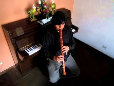 Saltarello - Flauta  Dulce Tenor - Renzo Pacheco