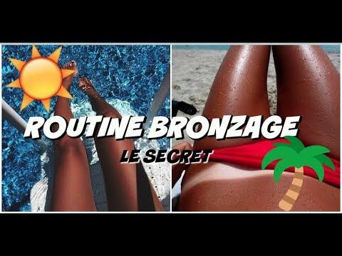 ☀️Le Secret Pour Un BRONZAGE PARFAIT ☀️