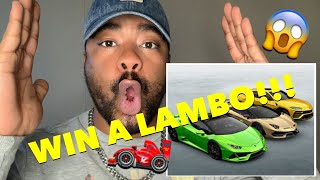 SEVEN REACTS | MR BEAST GIVES AWAY A LAMBO!!!