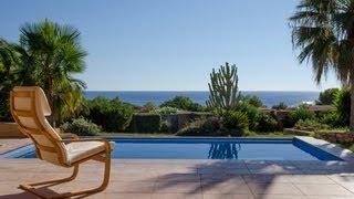 preview picture of video 'Ibiza Immobilien: Freistehende Villa mit unverbaubarem Meerblick zu verkaufen'