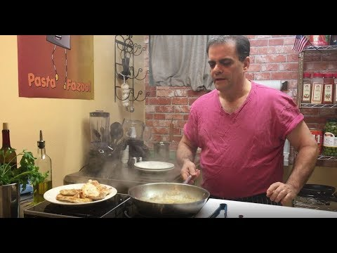 Chicken Piccata (Pasta Fazool Episode 11)