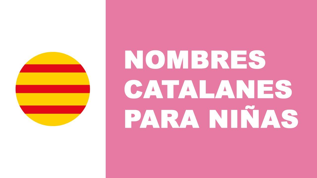 Nombres catalanes para niñas