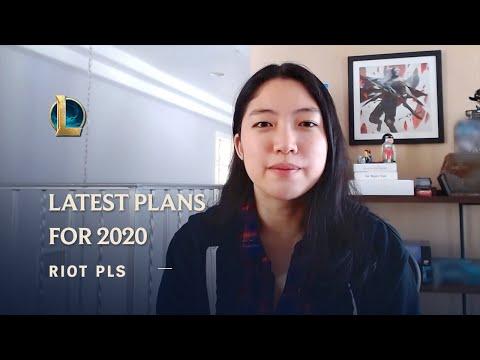 The Latest on League's 2020 Plans | Riot Pls - League of Legends