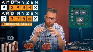 AMD Ryzen 9 3900X и 3700X vs Intel i9 9900K, Threadripper и 2700X