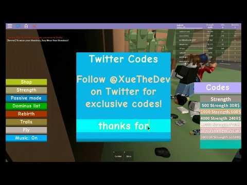 NEW# CODE Dominus Lifting Simulator   D | ROBLOX CODE