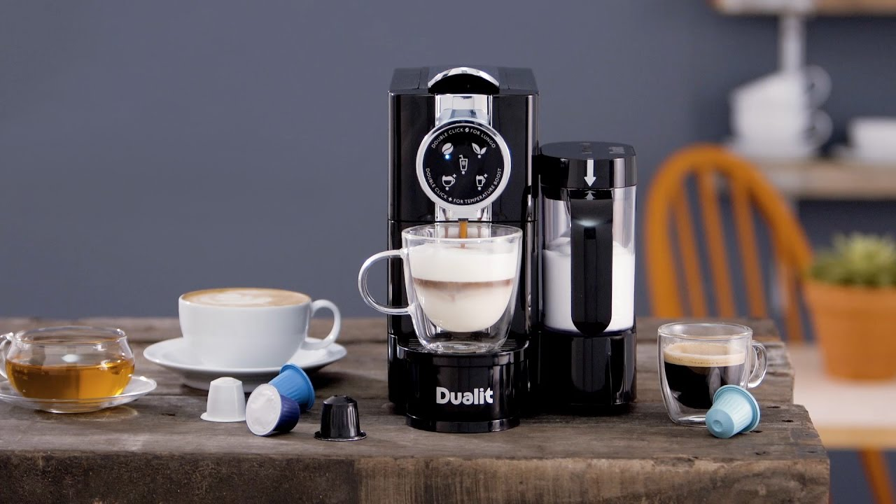 How to Make a Cappuccino with the Dualit Café Cino Capsule Machine preview