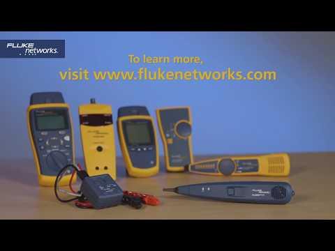 Video: Fluke Networks Pro3000™ Analog Tone and Probe Kit Introduction