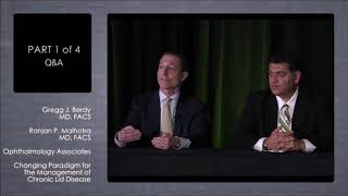 Drs. Berdy & Malhorta Discussing Using Avenova to Clean the Lids before Cataract Surgery