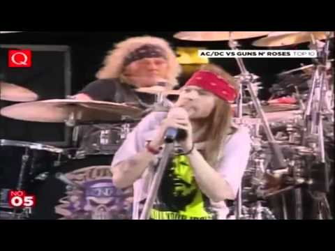 Guns n' Roses-Knocking on Heavens door HD LIVE