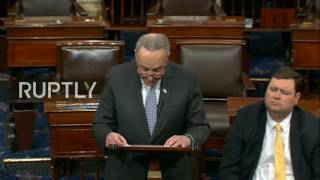LIVE: US Senate to vote on nomination of Rex Tillerson for secretary of state