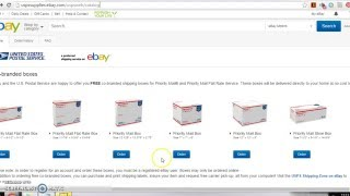 Free Shipping Boxes for eBay Items