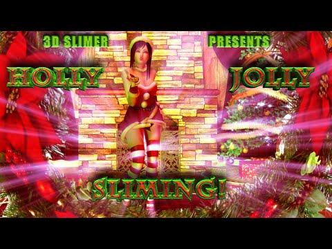 A Green Christmas Sliming