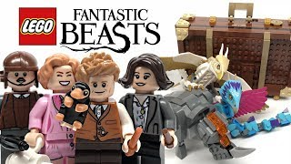 LEGO Fantastic Beasts Newt's Case of Magical Creatures review! 2018 set 75952!