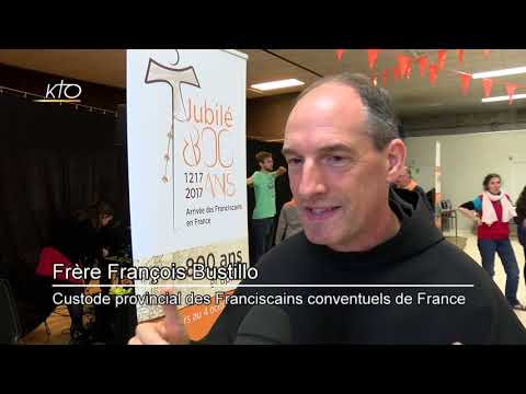 Les 800 ans de l'arrivée des Franciscains en France