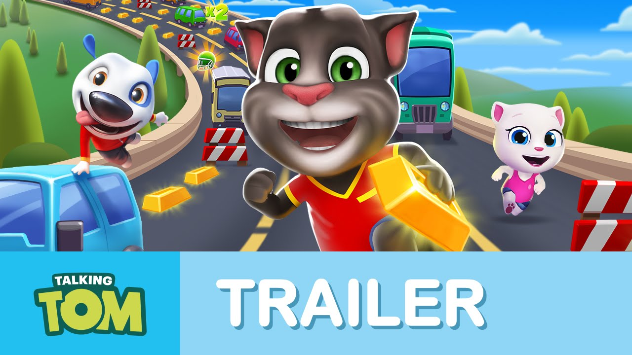 Talking tom video