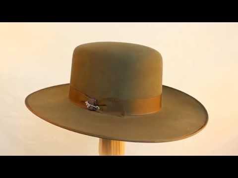 Stetson Austral Old West Cowboy Hat in Bark