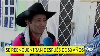 53 AÑOS PERDIDO, UN REENCUENTRO CONMOVEDOR