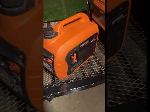 Generac GP3000i 3000-Watt Gasoline Powered Recoil Start Inverter Generator  Super Quiet with PowerRUSH Technology - 50 State/CSA
