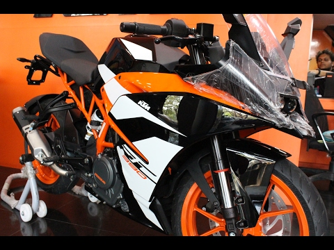 KTM RC 390 2017 Edition - Detailed Walkaround & Exhaust Note