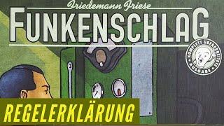 Funkenschlag - Regelerklärung - Aufbau - Anleitung - Friedemann Friese