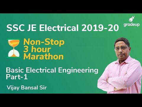SSC JE 2020 Marathon Class | Basic Electrical Engineering | Vijay Bansal | Gradeup
