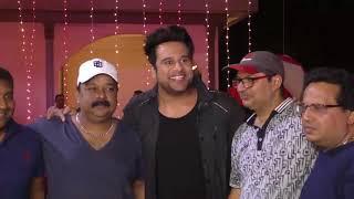 Mugdha Godse and Krishna Abhishek at song shoot of film sharma ji ki lag gayi
