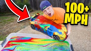 I HYDRO DIPPED WORLD'S FASTEST RC CAR!