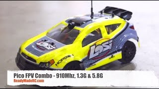 RMRC Pico FPV System on 1/24 Losi SCTE and Rally RTR