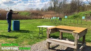Action Pistol Match at Sandoval Range, Illinois - Shooter 15