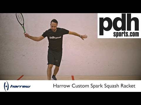Harrow Squash Racket Reviews: Part two – Custom Spark by PDHSports.com
