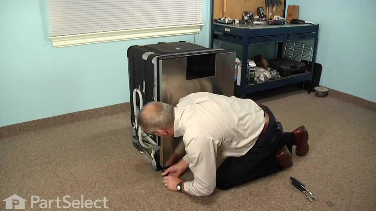 Replacing your KitchenAid Dishwasher Water Inlet Valve